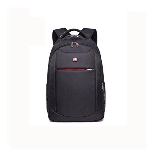 83128d821c Backpack da viaggio Nylon Laptop zaino 15,6 pollici , Black Black ...