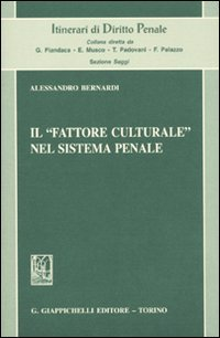 Il fattore culturale nel sistema penale
