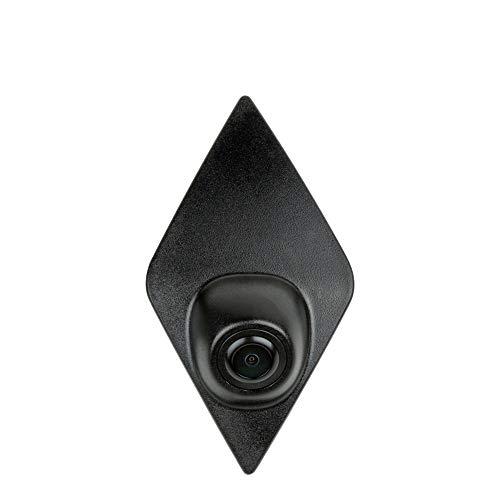 Front-Kamera- Perfekt,170° Wasserfest 1/3 HD CCD Emblem Kamera (Schwarz) & unauffällig ins Front-Emblem integriert für Renault Koleos Renault Kadjar Captur Espace 1/3 Sony 420 Tv