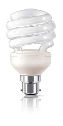 Philips Tornado Spiral energy saving bulb 871016321190910 - fluorescent bulbs (Spiral, B22, White, A, Warm White, White)