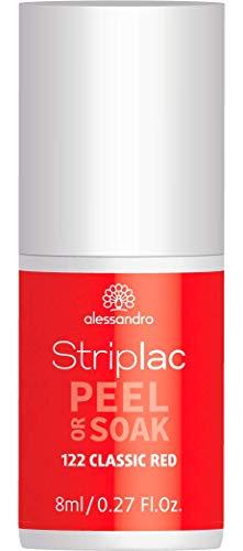 Alessandro Striplac Peel Or Soak Classic Red - Líquido