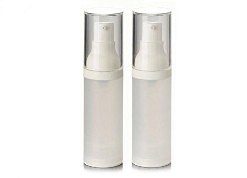 230ml/30g Unzen () nachfüllbar Airless Kunststoff Lotion Creme Pumpe Flasche mit Squeeze/Make-up Kosmetik Behandlung Container Jar Reisegröße Flaschen für Beauty Gele Seren und Lotionen (Unzen Squeeze-flasche 20)