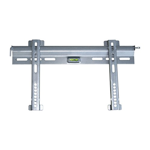 "TooQ LP3037F-S - Soporte fijo de pared para monitor/TV/LED de 23"" a 37"", hasta 45kg de peso, distancia a la pared 8mm, formato VESA hasta 400x200, color plata"