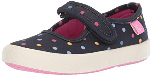 Blaue Canvas-mary Jane (Tom Joule Joules Mädchen Funday Mary Jane Halbschuhe, Blau (Navy Small Spot Navsmlspot), 28 EU)