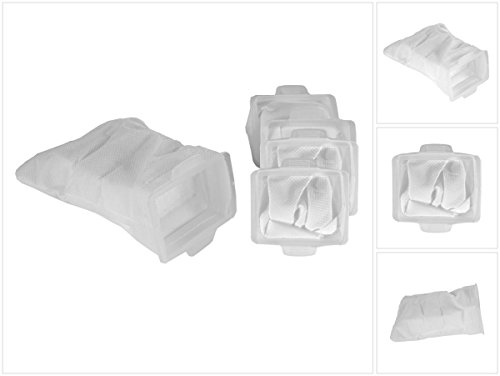 Makita Vlies Beutel Filterbeutel Staubsack für Akku Staubsauger DCL BCL 182 140 Z (166084-9) 5er Pack