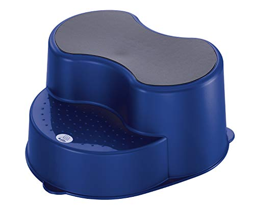 Rotho baby design sgabello per bambini gradini colore blu