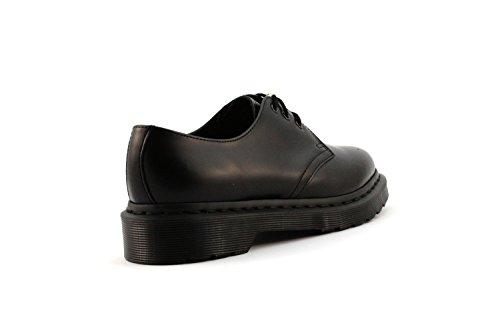 Dr Martens Monochrome 1461 14345001, Chaussures montantes mixte adulte Noir/beige - Noir