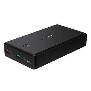 AUKEY USB C Bateria Externa 26500mAh con Quick Charge 3.0, Power Bank con 2 Puertos Salida para iPhone X/ 8/ Plus/ 7, Samsung S8, iPad, Tableta etc. (B075ZPZ36R)   Amazon Products
