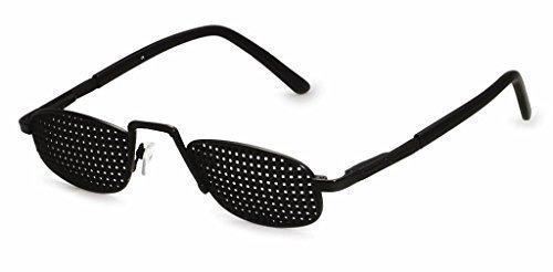 occhiali stenopeici in metallo 420-RSP - piazza Raster - incl. (Personal Accessori Audio)