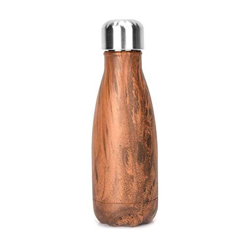 olierte Wasserflasche auslaufsicher für Outdoor-Sportarten, tragbar, kreativer Koksbecher ()