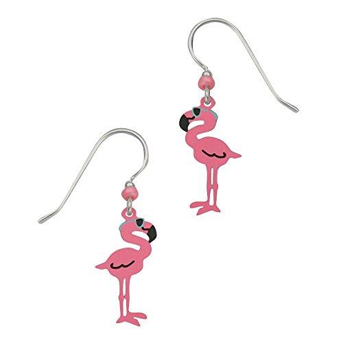 Sienna Sky USA-Sienna Cool Pink Flamingo W/Ohrringe mit Geschenkbox - Cool Flamingos