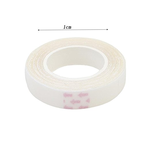 Lalang Doppelseitig Klebeband Für Perücken, Hautfreundliches Body Tape 1cm X 4.5cm
