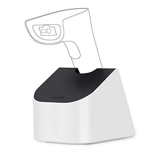 Koolertron IOT800C-2D Barcode Scanner Ständer, Halterung Bluetooth Wireless 2.4GHZ Scanner QR Code 1D/2D, Ständer Barcodescanner QR PDF417 Data Matrix UPC