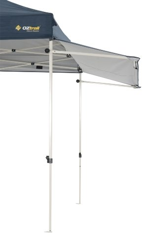 Oztrail - Toldo adicional de 295 x 102 cm para tu cenador o gazebo. Removable Gazebo Awning Kit MPGC-RAK30-A 2.5kg carpa, tienda, jardin