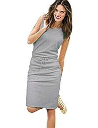 Vestidos Mujer Casual,Modaworld ❤ Vestidos de Fiesta Casual de Playa de Verano para
