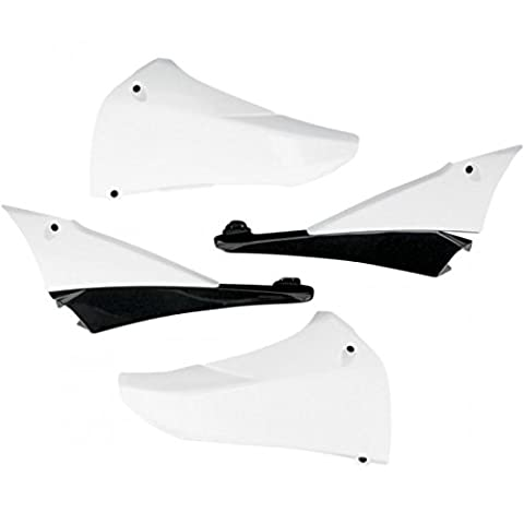 Upper radiator covers yamaha yz450f white - ya04823-046 - Ufo 05200870