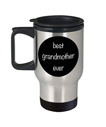 EstherBur87 Bestes Großmutter-überhaupt Reise-Bechergeschenk für Großmuttergeschenk für Nana-Reisebecheredelstahl 14 Unze - 5 Unze-körper-milch