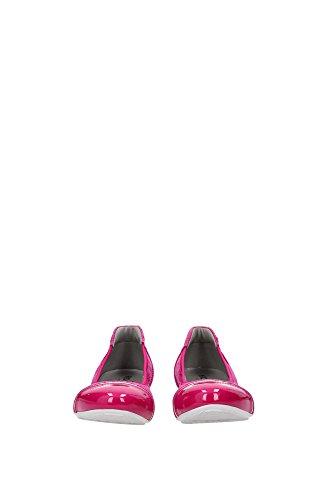 HXW14407124BXXM823 Hogan Ballerine Femme Tissu Fuchsia Fuchsia