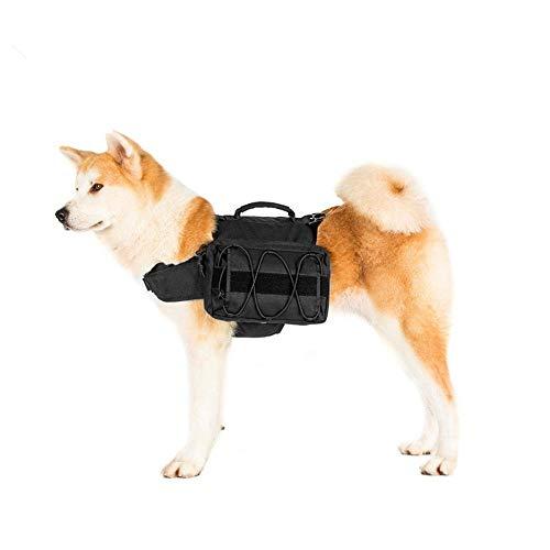 Hundetracksack, Hundesatteltasche Hunderucksack, Hunde-Pack-Wanderausrüstung, abnehmbare Satteltasche Rucksack Hound for Reisen Camping Wandern mittlere und große Große Rassen für Outdoor, Reise, Camp
