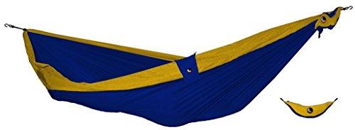 TICKET TO THE MOON Hängematte, Single size - royalblau/ dunkelgelb