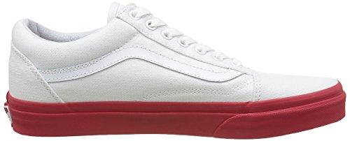 vans unisex erwachsene old skool sneakers rot