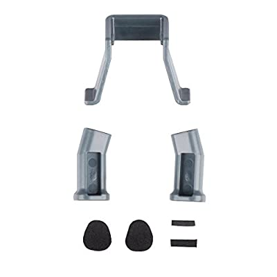 MyArmor Heightened Lengthened Extended Landing Gear Support Safe Landing Bracket Protector Guard for DJI Mavic Pro Drone(Grey,Gold)
