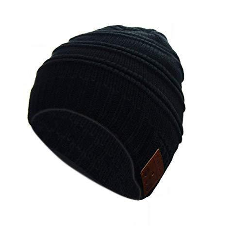 Color You Cuffia Bluetooth Beanie Music Hat Cappello Invernale Lavabile con Cuffia Stereo con Altoparlante Stereo per la Corsa, Sci, Pattinaggio, Regali di Natale per Uomo Donna (Style 1)