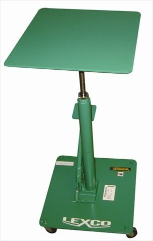 Wesco Industrial Products 492223 Steel Foot-Operated Hydraulic Lift Table, 200