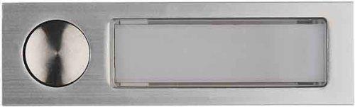 ELCOM Antivandal-Kombitaster eloxal AV3-Taster EV1