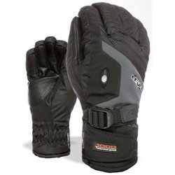 Level Herren Handschuhe Alpine, Black/Grey, 8.5, 3342UG Image