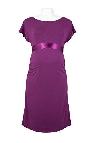 Picchu Maternity Damen Schlauch Kleid Grape