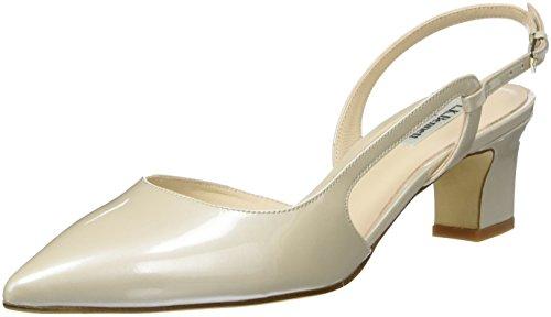 LK BENNETT Aurora, Scarpe con Cinturino Alla Caviglia Donna Bianco (Cre-cream)