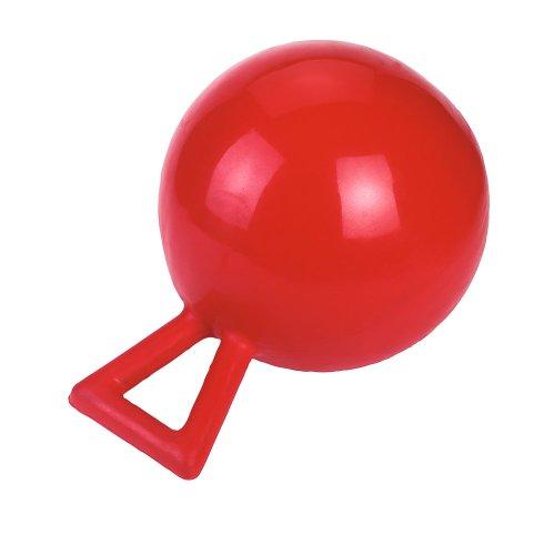 Kerbl 32398 Spielball Pferde, rot, 25cm