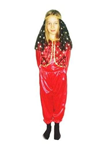 Kostüm Fliegender Teppich - Prezer Suleika rot Haremsdame Kinderkostüm