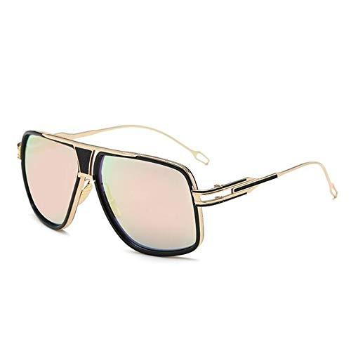 Sonnenbrillen. Quadratischen Rahmen Fashion Sonnenbrille Männer Vintage Metall Steampunk Sonnenbrille Frauen Schattierungen Outdoor Reisen Sommer Uv400 Rosa