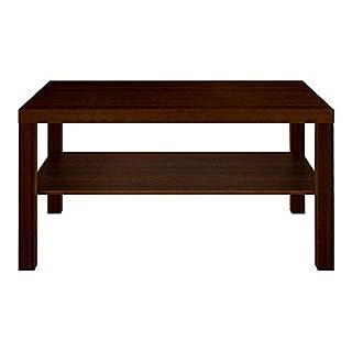 Generic lack Oak Storage Shelf Storage Shelf Black Oak Furniture Rectangular Coffee Furnitu Black Oak angula Table with Rectangul