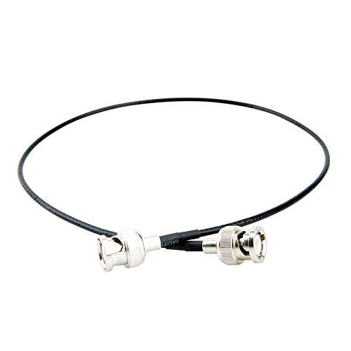 NICEYRIG SDI Video Kabel Stecker auf Stecker High Speed 4 K Datentransfer für Blackmagic Video Assist (50 cm)