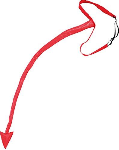 (Erwachsene Unisex Junggesellinnenabschied Junggesellenabschied Nacht Verkleidung Kostümparty Sexy Teufel Schwanz & Gürtel Rot)