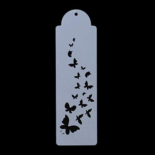 Pinhan Spitze Schmetterling Kuchen Spray Schablone Fondant Kuchen Kekse Weiche Süßigkeiten Backform Hochzeit Dekoration Craft Tools