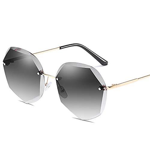 FYrainbow Damen-Sonnenbrillen, polygonale Sonnenbrillen eignen Sich am besten zum Angeln Golf-Outdoor-Reisen Anti-Ultraviolette UV400 Objektive,B