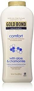 Gold Bond Ultimate Body Powder Comfort Aloe 10 oz.