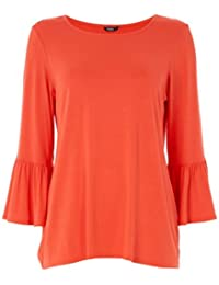 Roman Originals - Top Manches Pagodes Col rond - Femme