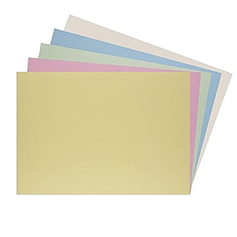 House of Card & Paper A3 220 gsm Card - Assorted Pastel Shades (Pack of 25 Sheets)