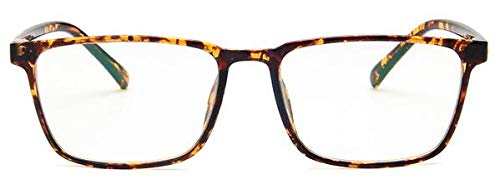 SNXIHES Sonnenbrillen Mode Frauen Brillengestell Männer Transparente Brillengestell Vintage Quadrat Klare Linse Gläser Optische Brillengestell 4