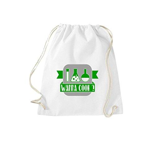 Shirtstown, Borsa tote donna Bianco (bianco)