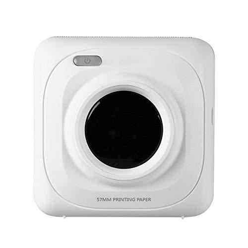 SODIAL Mini Machine D'Imprimerie Portable Bluetooth sans Fil Portable POS Machine D'Imprimerie d'image Photo Thermique pour Android iOS Telephone