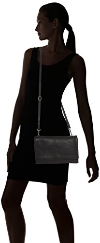 Amsterdam Cowboys Bag Taunton, Sacs portés épaule Noir - Schwarz (Black 100)