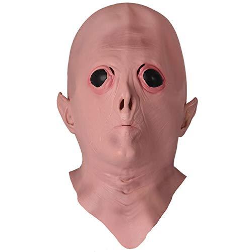 SODIAL(R) Halloween Gruselige Latex UFO Alien Kopf Maske