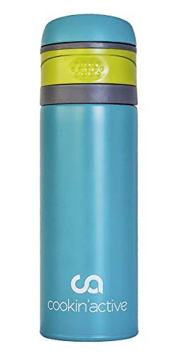 cookin'active Thermosflasche, Trinkflasche, BPA frei, perfekt für