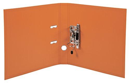 Exacompta 53054E Premium Kunststoff-Ordner (PVC, 2 Ringe, Rücken 50 mm, DIN A4) 10 Stück Farbkombination - 6